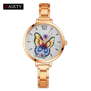 GAIETY women quartz watch 2017 new brand bracelet style watch clock Female