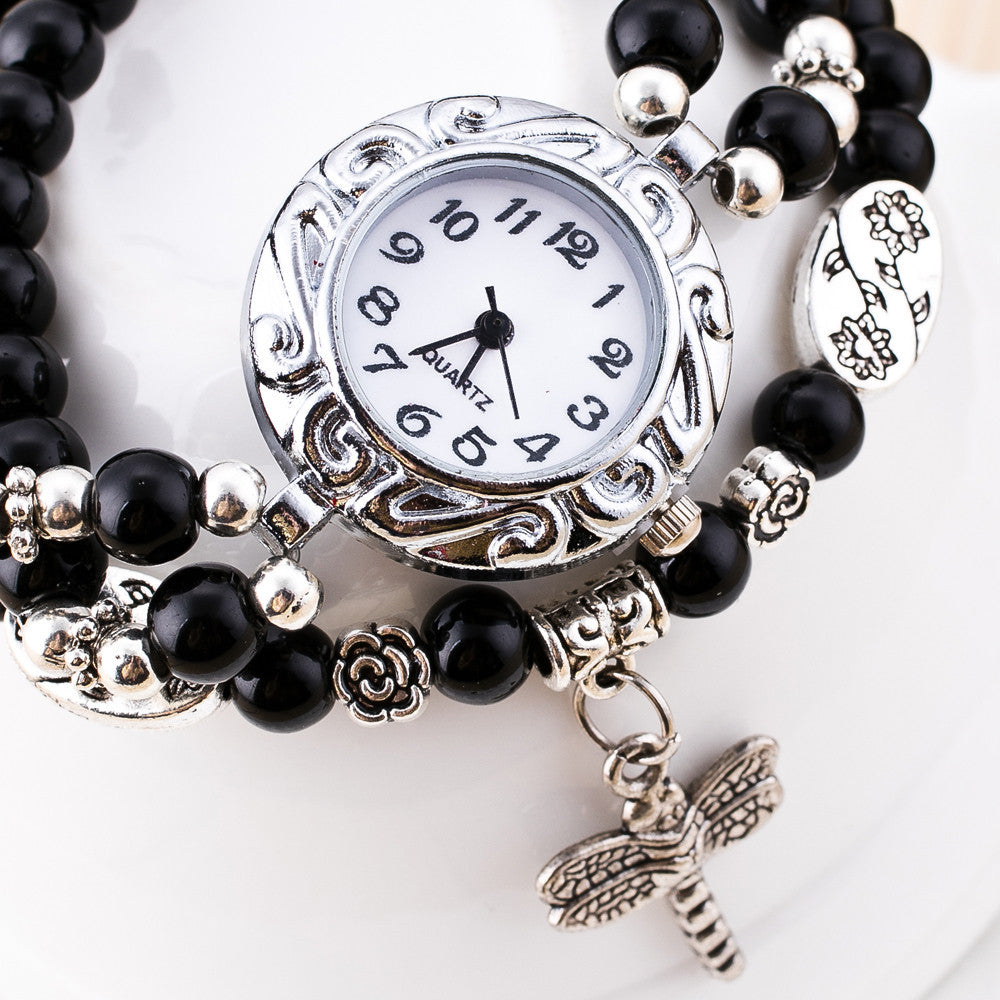 Fashion Cute Women Ladies Girls Quartz Bracelet Leather Wrist Watch Gift