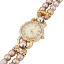 Load image into Gallery viewer, Fashion Luxury Pearl Bracelet Quartz Watches Women Casual Wristwatches