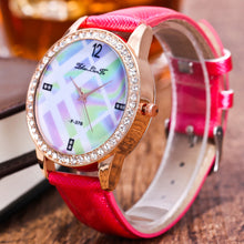 Load image into Gallery viewer, Luxury Women Quartz Wrist Watch Leather Band Casual Dress Watch
