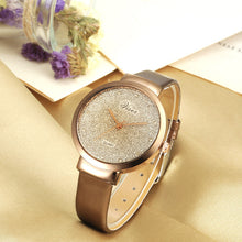 Load image into Gallery viewer, Fashion Women Leather Casual Watch Luxury Analog Quartz Crystal Wristwatch