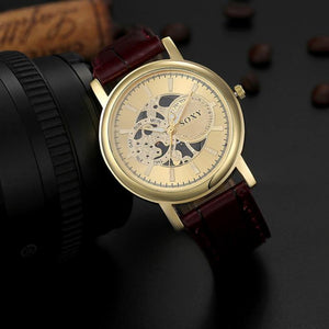 Quartz Watch Men Sports Hollow Strap Watches Wrist Watch