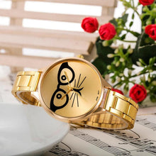 Load image into Gallery viewer, 2017 Brand Luxury stainless steel Watch WomDress Watches