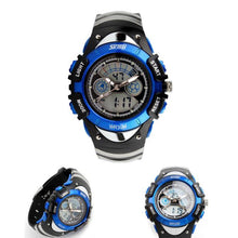 Load image into Gallery viewer, Skmei kids Children LED Quartz Watch For Boy Girl Diving Wristwatch