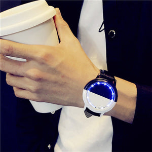 Waterproof LED Watch Men And Women Lovers Watch Smart Electronics Watches