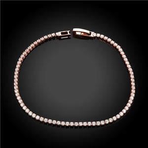 Minimalist Crystal Alloy Bangle Zircon Bracelet for Women Girls Jewelry Decoration