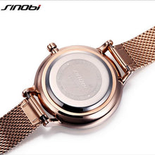 Load image into Gallery viewer, SINOBI Brand Luxury Women's Watches Shiny Starry Sky Watch Women Watches