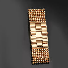 Load image into Gallery viewer, Luxury Rhinestone Bracelet Women Watches Wide Rose Gold Women'S Watches