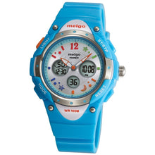 Load image into Gallery viewer, PASNEW PSE-2001AD Wateproof Student Boys Girls Dual Time Display LED Digital