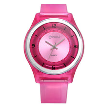 Load image into Gallery viewer, Children Waterproof Silicone Strap Watch Kids Fashion Cute Watch Students Girl Watch
