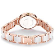Load image into Gallery viewer, Top Brand Luxury Diamond Watch Women Watches Fashion Rose Gold Ladies Bracelet Watches