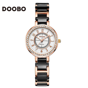Top Brand Luxury Diamond Watch Women Watches Fashion Rose Gold Ladies Bracelet Watches