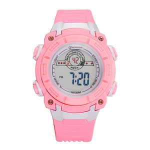 Children Girls Boys Waterproof Silicone Sport Students Kids Fashion LED Digital Watches