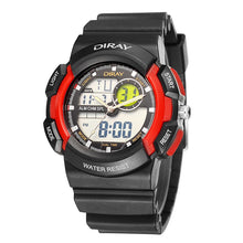Load image into Gallery viewer, Dual Display Watches Waterproof Sport Digital Watch Men Watch