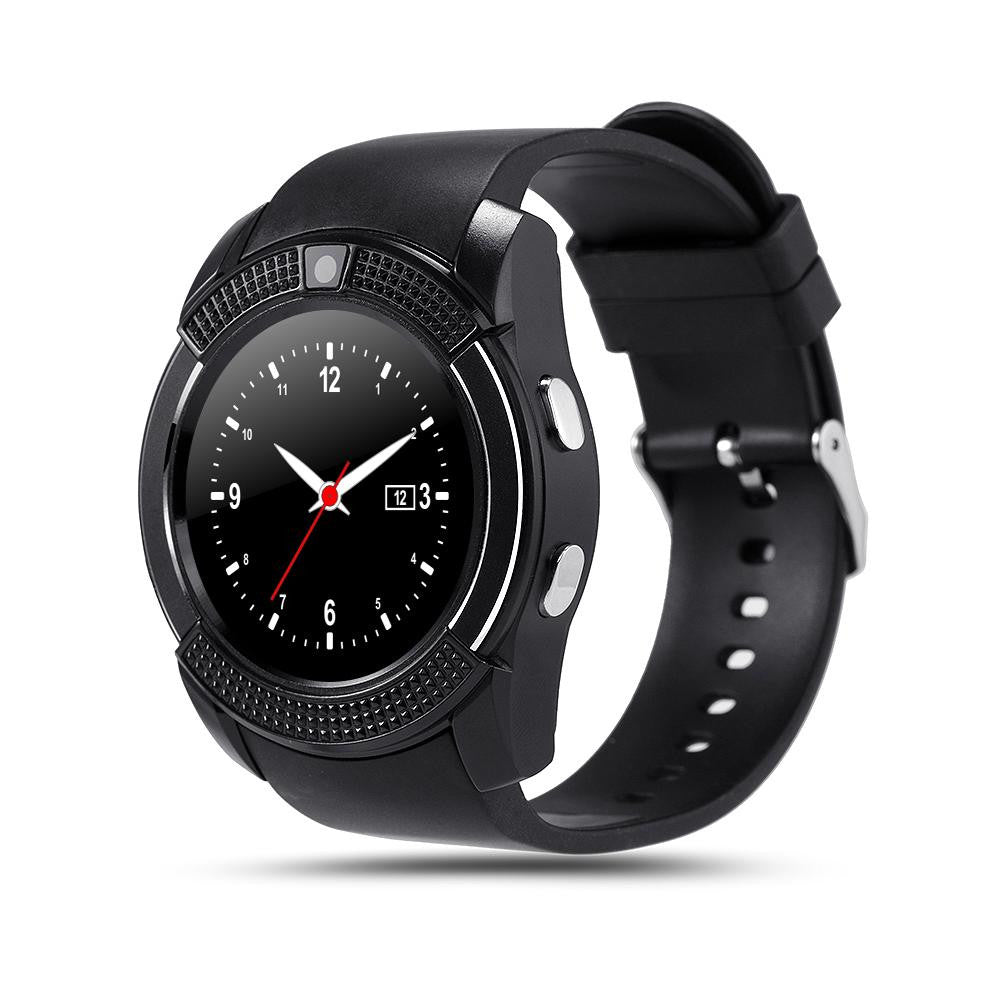 The New V8 Intelligent Men Watch Smart Watch Camera Watch