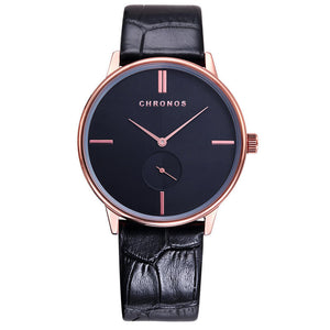 Fashion Wrist watch Men Watch Leather  Men's Waterproof Watch