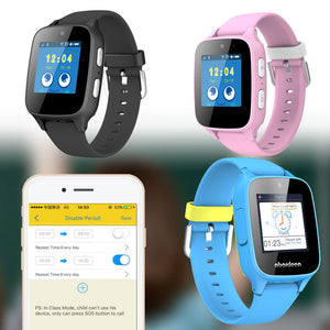 Fashion Video Calling Touch Screen Kids Smart Watch Abardeen B108 Bluetooth GPS
