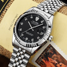 Load image into Gallery viewer, Men Brand Wristwatch Waterproof Semi-automatic Mechanical Watch Luminous Sport