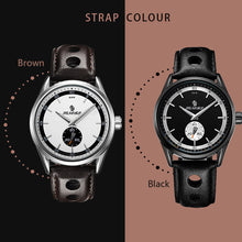 Load image into Gallery viewer, Casual 3ATM  Quartz Watches Genuine Leather Band Watch Male Relogio Masculino