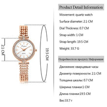 Load image into Gallery viewer, Fashion Women Luxury Stainless Steel Watches Casual Ladies Quartz Watch