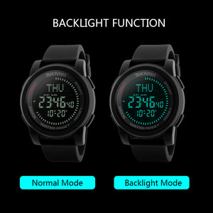 Water-resistant Men Watches Backlight Wristwatch Male Relogio Musculino Chronograph