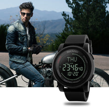 Load image into Gallery viewer, Water-resistant Men Watches Backlight Wristwatch Male Relogio Musculino Chronograph