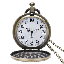 Load image into Gallery viewer, Men's Pocket Watch, Vintage Bronze Quartz Pocket Watch Men Women, Gift for Men