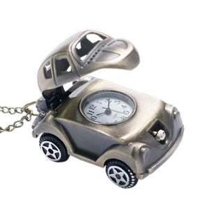 Men's Pocket Watch, Retro Creative Watch Cool Car Design Cute Pocket Watch, Gift for Men