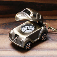 Load image into Gallery viewer, Men's Pocket Watch, Retro Creative Watch Cool Car Design Cute Pocket Watch, Gift for Men