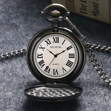 Load image into Gallery viewer, Men's Pocket Watch, Antique High Quality Mens Bronze Big Size DAD Pocket Watch, Gifts for Men