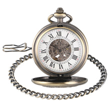 Load image into Gallery viewer, Vintage Pocket Watch, Fashion Unique Mechanical Pocket Watch, Gift for Men