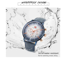 Load image into Gallery viewer, Men Watches 3ATM Water-resistant Quartz Wristwatch Relogio Musculino Chronograph
