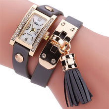 Load image into Gallery viewer, Duoya Watches Fashion Luxury Watch Women Bracelet Watch Square Diamond