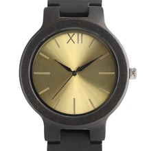 Load image into Gallery viewer, Wood Watch Men Creative Watches Fashion Casual Women Watches-Yellow
