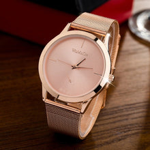 Load image into Gallery viewer, Fashion Female Clocks Women Luxury Quartz Watch rose gold Stainless Steel dress Watches