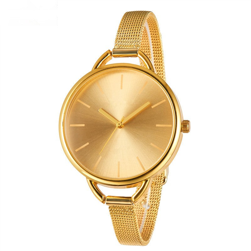 Luxury Golden Silver Women Watches