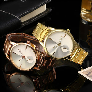 Golden Luxury Men Women Watches
