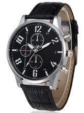 Load image into Gallery viewer, Fashion Bussiness  Black or Brown Men Watches