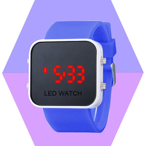 Digital LED Touch Screen Watch Unisex Women Men Boys Girls Wristwatch Sports Casual Watch