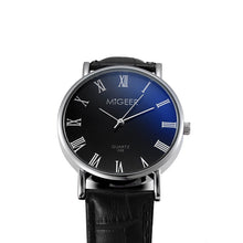 Load image into Gallery viewer, Watch Roman numerals Men's Watches Fashion Blue Glass Mens Watches