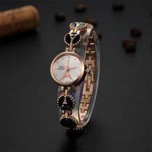 Load image into Gallery viewer, New Hot Sale Bracelet Watch SOXY Luxury Brand Gold Watch Women Dress Quartz Watch Ladies Watches