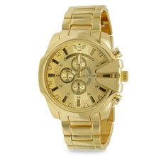 Load image into Gallery viewer, Gold V-cut Executive Classic Mens Watch