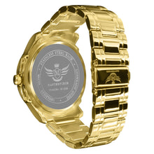 Load image into Gallery viewer, Gold Leaf Index Dial Executive Classic Mens Watch