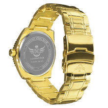 Load image into Gallery viewer, Gold Racer Dial Classic Mens Executive Style Watch