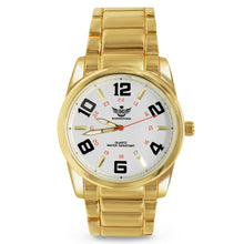 Load image into Gallery viewer, Big Arabic Numeral Gold Executive Classic Mens Watch