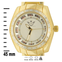 Load image into Gallery viewer, Racer Dial Classic Mens Executive Style Watch