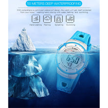 Load image into Gallery viewer, Wrist Watches LED Digital Stopwatch Alarm Luminous Water Resistant Girl Boy Watch