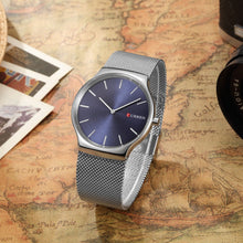 Load image into Gallery viewer, Stainless Steel Men Watches Quartz 3ATM Water-resistant Casual Man Wristwatch Relogio Musculino