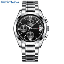 Load image into Gallery viewer, Quartz Clock Mens Full Steel Army Military Sport Wrist Watch Relogio Masculino
