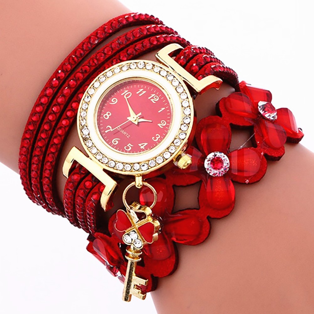 Women Watches, New Luxury Casual Analog Alloy Quartz Watch PU Leather Bracelet